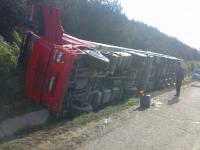 BEKA roadside assistance - Refrigerated truck crash